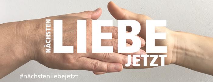 nächstenliebejetzt, eine Aktion des Evangelischen Presseverbands für Bayern e. V.