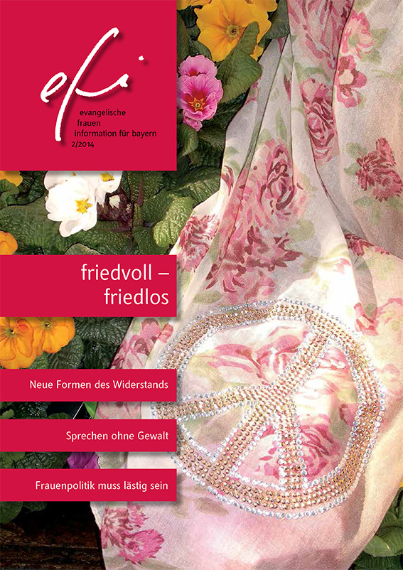 efi friedvoll - friedlos Cover