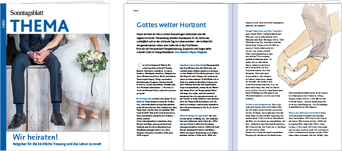 THEMA-Magazin Wir heiraten